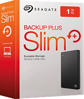 Ext.Hdd Seagate Backup Plus  1TB/USB 3.0 / Black