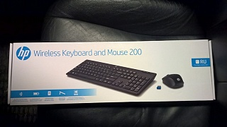 HP Wireless Keyboard and Mouse 200 (Z3Q63AA )