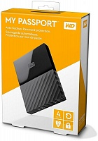Ext.Hdd Western Digital My Passport Ultra/4 TB/USB 3.0