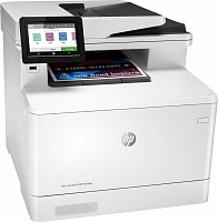 HP Color LaserJet Pro MFP M479fdw (W1A80A) Printer, Scanner, Copier, Fax, Email /  A4 /  27 ppm / 600 х 600 dpi / USB 2.0 printing port / LAN / 512MB / Duplex printing / Flatbed, ADF / RADF/ Wi-Fi/ HP  Black  W2030A /Cyan  W2031A/ Yellow  W2032A/ Magenta