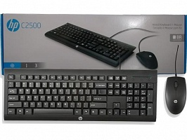 HP  C2500 USB Keyboard and Mouse(H3C53AA