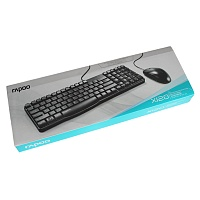 X120 Rapoo Mouse And Keyboard