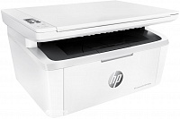 HP LaserJet Pro MFP M28w (W2G55A)- Printer, Scanner, Copier / A4 / 18 ppm / 600x600 dpi / USB 2.0 printing port / 32MB /Wi-Fi/  Black Cartridge CF244A